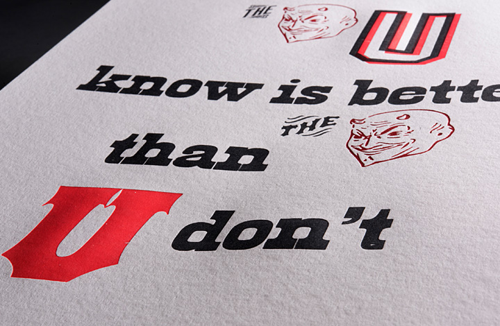 Rebus Quotes and Other Typographic Explorations - 5