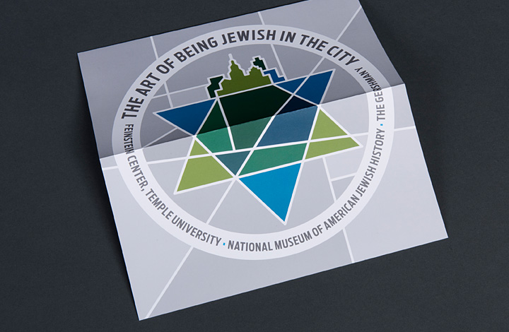 Art of Being Jewish in the City Brand Identity - 2