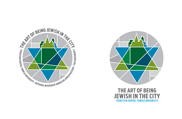 Art of Being Jewish in the City Brand Identity - 1