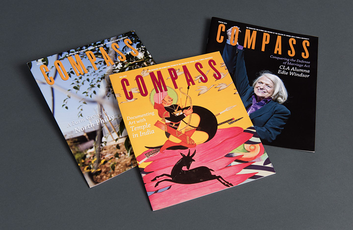 Temple Compass Alumni Magazines - 1