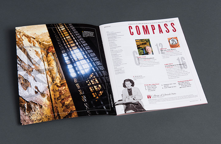 Temple Compass Alumni Magazines - 2
